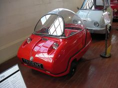 The Peel Trident was the second three-wheeled microcar made by the Peel Engineering Company on the Isle of Man. It was launched at the 1964 British motorcycle Show held at Earls Court.