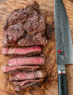 Sous vide is a reliable and reproducible method of cooking a perfect ribeye steak. The key is to sear in a blazing hot cast iron skillet. Sous Vide Ribeye Steak Recipe, Sous Vide Pork, Sous Vide Cooking, Pressure Cooking, Rib Eye Recipes, Beef Recipes, Cooking Recipes, Protein Recipes, Sous Vide Burgers