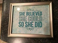 SHE BELIEVED SHE COULD SO SHE DID https://latonyiamikell.uppercaseliving.net