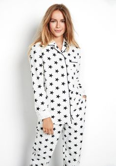 Our cosy flannel pyjamas, in our signature star print are a seasonal favourite for nights in. Perfect paired with cashmere socks or sheepskin scuffs for this time of year. Flannel Pyjamas, Festive Jumpers, Cashmere Socks, Sleepwear Women, Oversized Shirt, Star Print, Signature Style, Nightwear, Women Wear