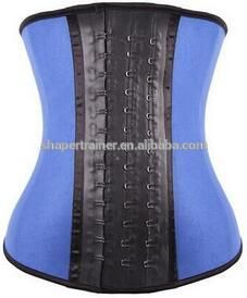 Waist Trainer corsets and bustiers latex corset underbust women slimming body shaper waist cincher slimming belt shapewear Latex Waist Trainer, Waist Trainer Corset, Waist Training Cincher, Waist Cincher, Latex Corset, Sexy Corset, Blue Corset, Steampunk Corset, Bustiers