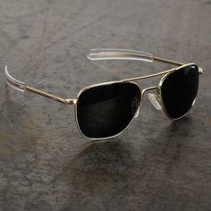 Randolph Engineering Randolph Aviator - GOLD AGX to-be-a-man Ray Ban Sunglasses Sale, Sunglasses Outlet, Sunglasses Online, Luxury Sunglasses, Polarized Sunglasses, Men Sunglasses Fashion, Sunglasses Women, Men's Accessories, Mens Glasses