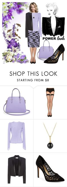 """""""Well Dressed Is My Power Look!"""" by bevmardesigns ❤ liked on Polyvore featuring Kate Spade, ToBeInStyle, Per Se, Natasha Zinko, David Yurman, Yves Saint Laurent, BCBGeneration, women, fashionset and womensFashion"""