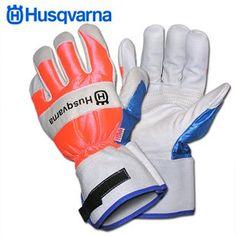 Husqvarna 505642210 Chain Saw Protective Gloves, Large