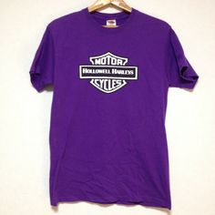MOTOR HOLLOWELL HARLEY CYCLES T-SHIRT Size: M