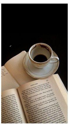 dark academia aesthetic coffee