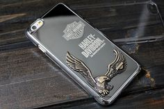 Zippo 3D Harley Davidson Metal Case For iPhone 6 / 6 Plus / 5S / 5C iPhone 4S / 4