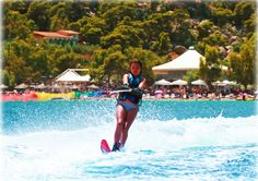 Vouliagmeni Lake, Loutraki, Greece #sports