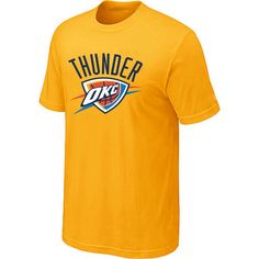Cheap NBA Jerseys, Good Qaulity NBA Jerseys,Best NBA Jerseys,Cheap NBA Jerseys from China,China NBA Jerseys,Cheap  Free Shipping,Nike NFL Jersey Oklahoma City Thunder Big Tall Primary Logo Yellow Man NBA Tshirt:$11