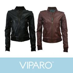 Leather Bomber Jacket love it!!!