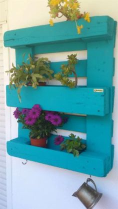 "Jardinera hecha con palets ""Dalia"" - Jardinera hecha con palets ""Dalia"" You are in the right place about diy organization Here we of - Diy Organization, Diy Storage, Picture On Wood, More Fun, Most Beautiful Pictures, About Me Blog, Inspiration, Pallets, Posters"