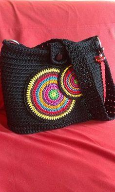 Crotchet Bags, Bag Crochet, Crochet Handbags, Crochet Bunny, Crochet Purses, Knitted Bags, Crochet Crafts, Crochet Projects, Crochet Flower Tutorial