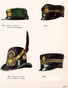 Military Uniforms, Military Art, Italian Army, Historical Art, Headgear, Helmets, Old World, Zip Around Wallet, Cap
