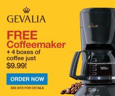 HOT Gevalia Coffee Deal :: $9.99 (free shipping) on http://www.stockpilingmoms.com