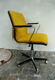 Hochwertiger Bürostuhl - 60er Jahre - Drehstuhl von MaDütt auf DaWanda.com