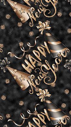 Wallpaper… By Artist Unknown… – - Neujahrswünsche Sprüche Happy New Year Status, Happy New Years Eve, Happy New Year Quotes, Happy New Year Wishes, Happy New Year Greetings, Quotes About New Year, Happy New Year 2019, New Year 2020, Merry Christmas Images