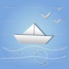 Resultado de imagen de barco de papel