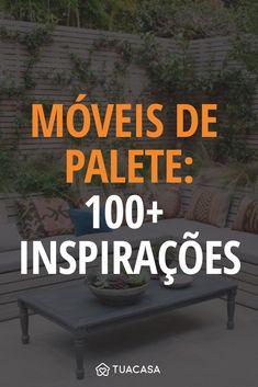 100+ inspirações para decorar com móveis de palete Do It Yourself Decoration, House Rooms, Wooden Boxes, Home Projects, My House, Diy And Crafts, Sweet Home, New Homes, Design