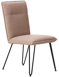 Add a plush, softer feel to your mixed dining look with the Demi Chair.