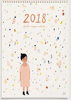 Frankie Calendar 2018