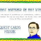 FREEBIE This day has become a celebration of independence, liberty and freedom. But do you know about the actual event that Cinco de Mayo commemorates?  Th...