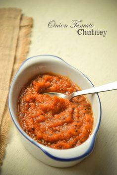ONION TOMATO CHUTNEY | kurryleaves