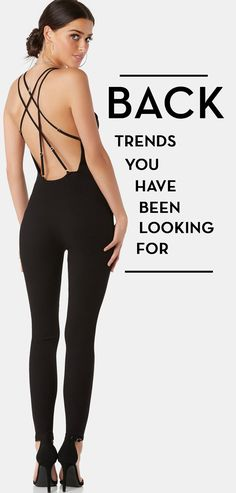 Open back trends you have been looking for.