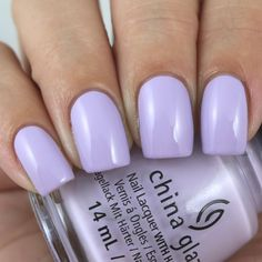 China Glaze A Waltz In The Park swatched by Olivia Jade Nails