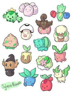 Chibi pokemo n its soo cute :3