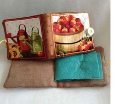Country Cottage needle case £2.50 Needle Case, Pin Cushions, Felt, Cottage, Etsy Shop, Country, Pattern, Handmade, Design