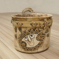 Prodané zboží uživatele Keramika Javorník | Fler.cz Clay Pots, Ceramic Pottery, Decorative Boxes, Ceramics, Collection, Cement, Cactus, Craft, Ceramica