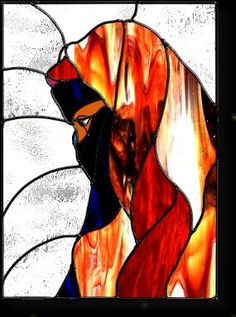 Image detail for -stained glass woman 21 portrait 1 - 29 stained ...