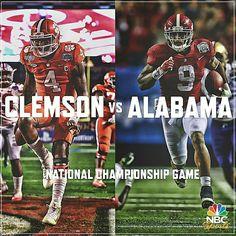 Alabama vs Clemson National Championship