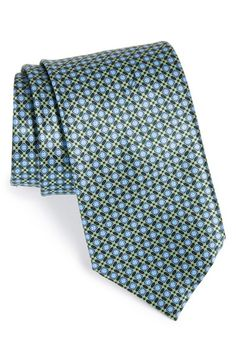 Ermenegildo Zegna Geometric Silk Tie available at #Nordstrom