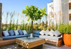 meubles palettes idees decoration terrasse jardins
