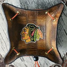Very Custom - Vvego.com Leather Valet Tray, Leather Wallet, Hockey Pads, Hockey Gloves, Christmas Gifts For Men, Christmas Ideas, Edc Gear, Leather Projects, Everyday Carry