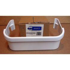 exact replacement parts er240351601 bin electrolux door bin white