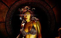 Fantasy Medusa  Wallpaper