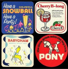 Classy drinks from the 70's