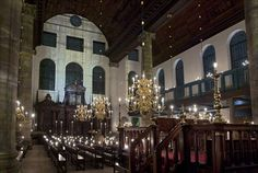The Esnog or Portuguese Synagogue in Amsterdam. Appears in STA #4. (Yes, I know it isn't published yet...)