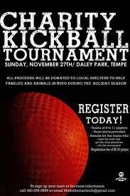 kickball tournament flyer template
