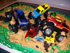 Cakesbirthday Cakekids Cakesmonster Truck Ps Rd Birthday - 5th birthday cake boy