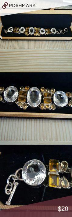 Chunky bracelet Large Chunky costume bracelet. Jewelry Bracelets