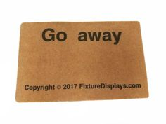 "27.5x17.7""_Go_Away_Doormat_Non_Slip_Doormat_Fashion_Polypropylene_Fiber_Entrance_Doormat_16767"