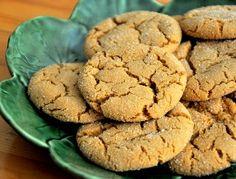 Orange Cardamom Molasses Cookies