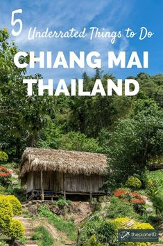 Tips for getting off the-the-beaten tourist path in Chiang Mai. 5 underrated experiences in one of Thailand's most popular inland destinations. | Blog by The Planet D: Canada's Adventure Travel Couple