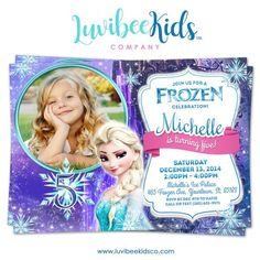 Frozen Birthday Invitation Start your celebration off right with this adorable and fun birthday party invitation! Elmo Birthday Invitations, Bar Mitzvah Invitations, Christening Invitations, Frozen Disney, Frozen Themed Birthday Party, 4th Birthday, Elsa Birthday, Birthday Ideas, Free Frozen Invitations