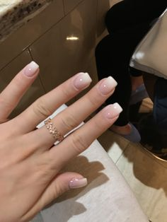 60 wedding natural gel nails design ideas for bride 2019 nails amazing 2 60 wedding natural gel nails design ideas for bride 2019 nails amazing 2 Shellac Nail Colors, Shellac Nails, My Nails, Gel Ombre Nails, Fade Nails, Neutral Nail Polish, Faux Ongles Gel, French Gel, French Tip Dip