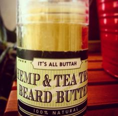 Beard Butter Beard Butter, Baking Ingredients, Cookie Dough, Coconut Oil, Jar, Food, Products, Essen, Meals