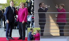Merkel and Macron pledge common 'road map' for Europe